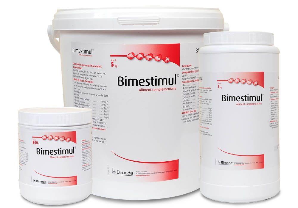 Bimeda Bimestimul Stimulation Hepato-Digestive Bovin Cheval Ovin Caprin Porcin poudre orale 5kg