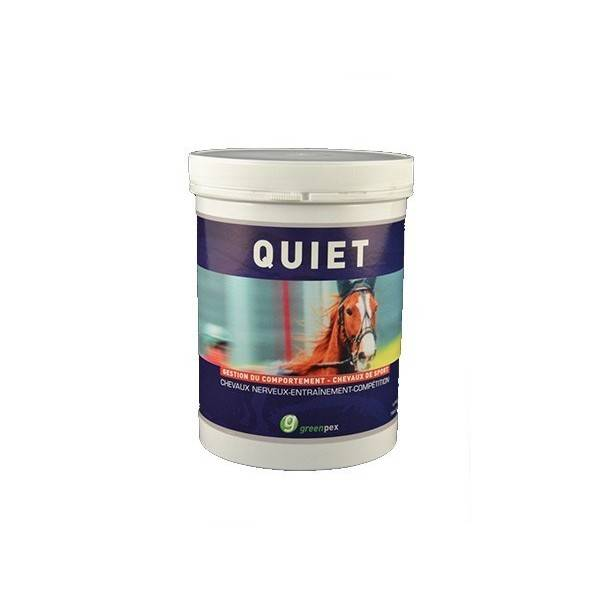 Quiet Aliment Mineral Alimentation des Reactions au Stress Cheval granule 1,5kg