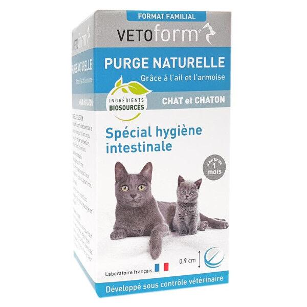 Vetoform Purge Naturelle Spécial Vers Chat et Chaton 50 comprimés