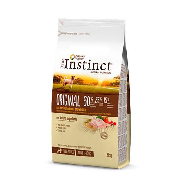 True Instinct Original Chien Mini Adult Croquettes Poulet 2kg