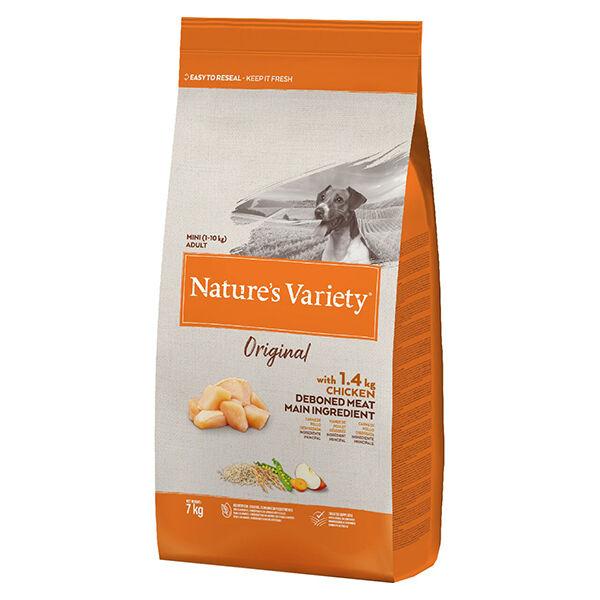 Nature's Variety Original Chien Croquettes Petites Races Poulet 7kg