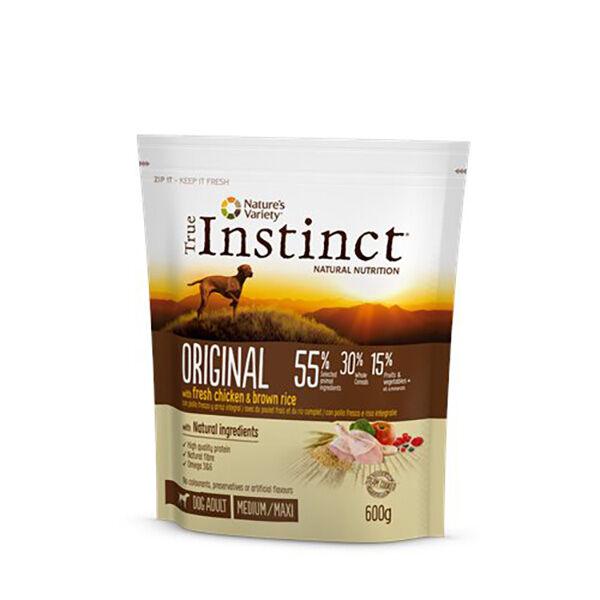 True Instinct Original Chien Medium Maxi Adult Croquettes Poulet 600g