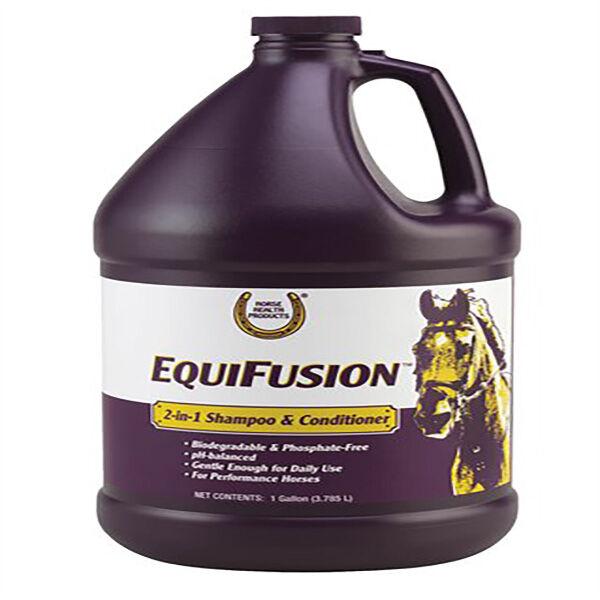 equifusion shampoing et demelant cheval bidon de 3l78