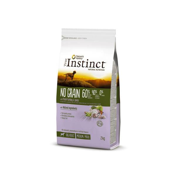 Affinity Petcare True Instinct No Grain Medium Maxi Dinde 2kg