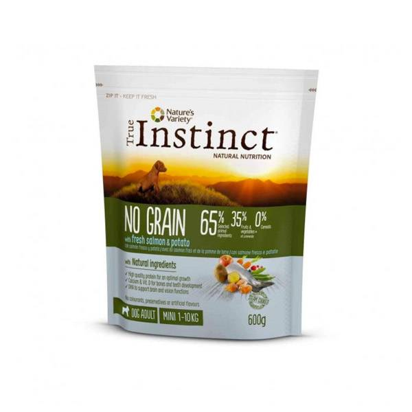 Affinity Petcare True Instinct No Grain Medium Mini Saumon 600g