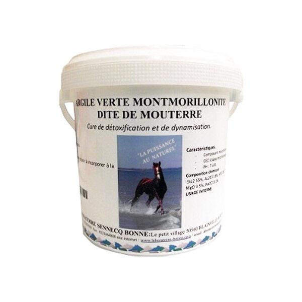 Sennecq Bonne Argile Verte Montmorillonite Cheval Poudre Usage Interne 1kg