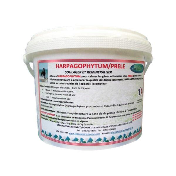 Sennecq Bonne Harpagophytum + Prêle Complément Alimentaire Articulation Tendon Cheval granule 25kg