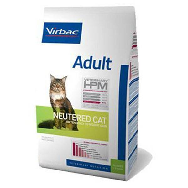 Virbac Veterinary hpm Neutered Chat Adulte (+12mois) Croquettes 400g