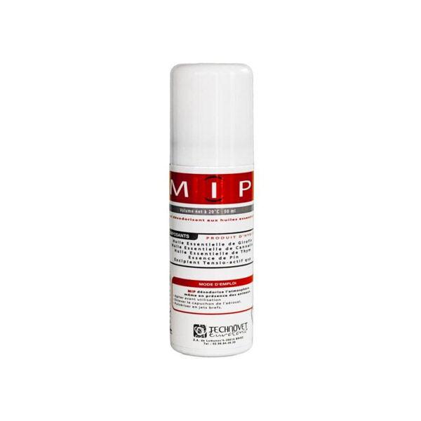 Technovet Eurotonic MIP Huiles Essentiels Désodorisation et Hygiène Atmosphère Spray Aérosol 50ml