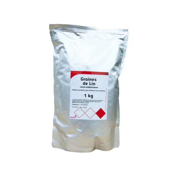 Savetis Graine de Lin Usage Vétérinaire 1kg