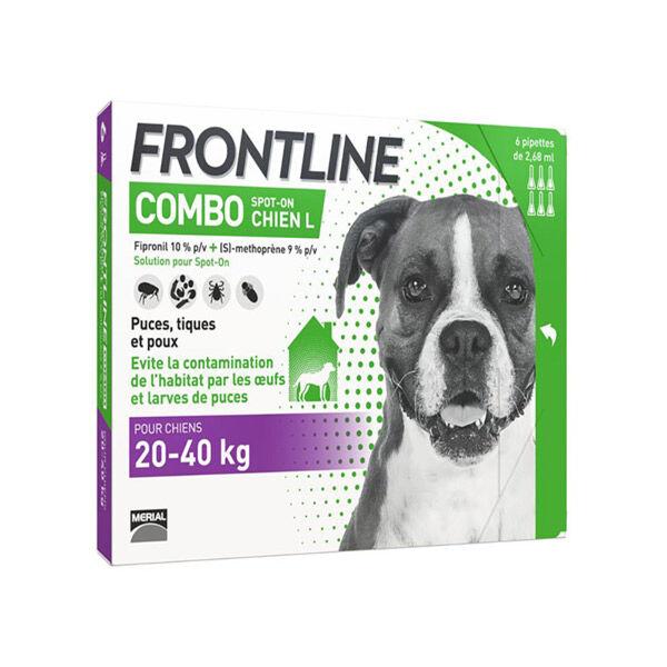 Frontline Combo Chien L Boite de 6 pipettes