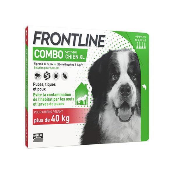 Frontline Combo Chien XL Boite de 4 pipettes