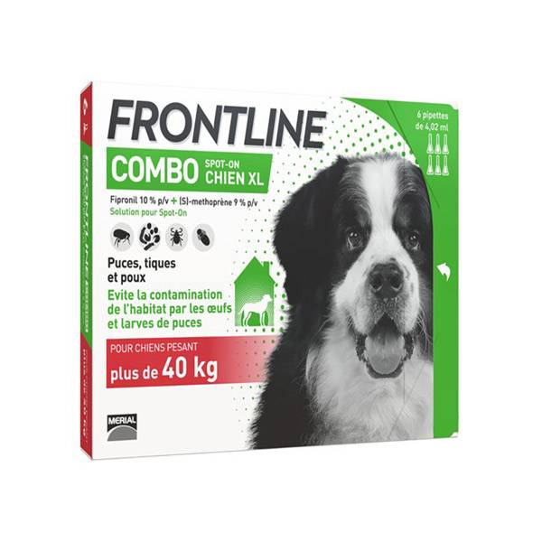 Frontline Combo Chien XL 6 pipettes