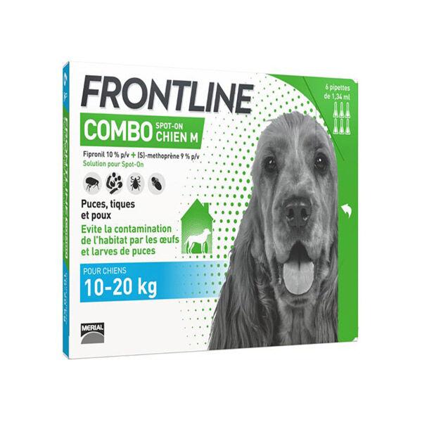 Frontline Combo Chien M Boite de 6 pipettes