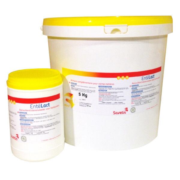 Savetis ente lact supplement nutritionnel reduction du stress bovin caprin poudre orale seau de 5kg