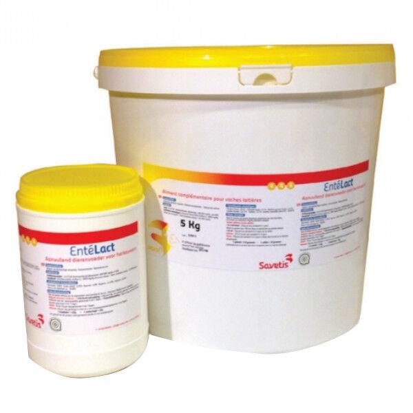 Savetis ente lact supplement nutritionnel reduction du stress bovins caprins poudre orale seau de 15kg