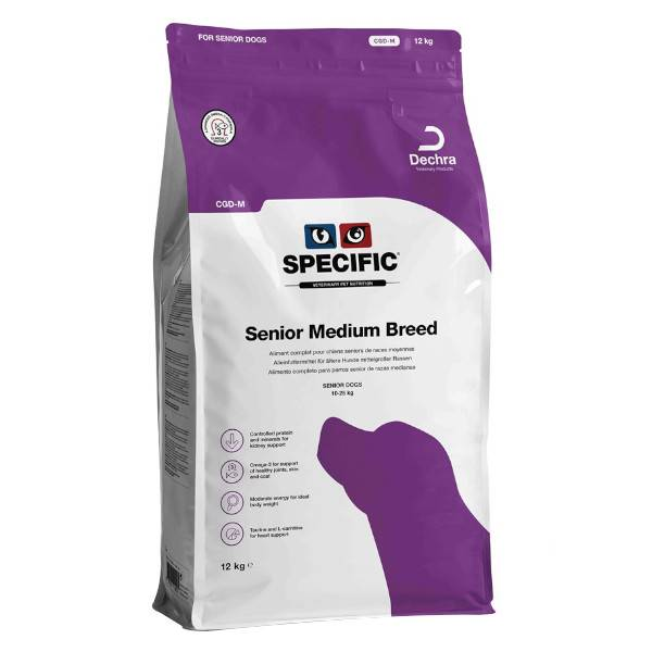 Dechra Specific Chien CGD-M Senior Medium Breed Croquettes - Sachet de 12kg