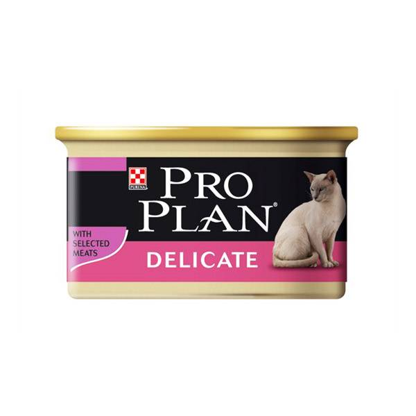 Purina Proplan Delicate Chat Saveur Dinde 85g