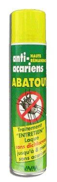 Abatout Laque Anti-Acariens & Gale Entretien 300ml