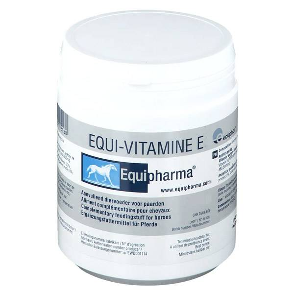 Ecuphar Equi-Vitamine E (500mg/g) Cheval Poudre Orale 300g