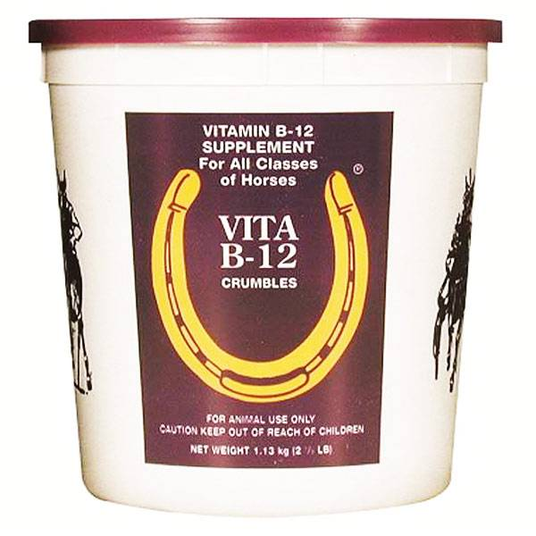 Pommier Nutrition Vitamine B12 Vérérinaire Performance Cheval Poudre Orale 1,13kg