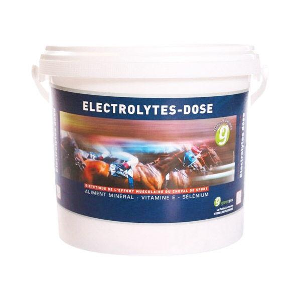 Greenpex Electrolytes Aliment Mineral Cheval Poudre Orale 4kg