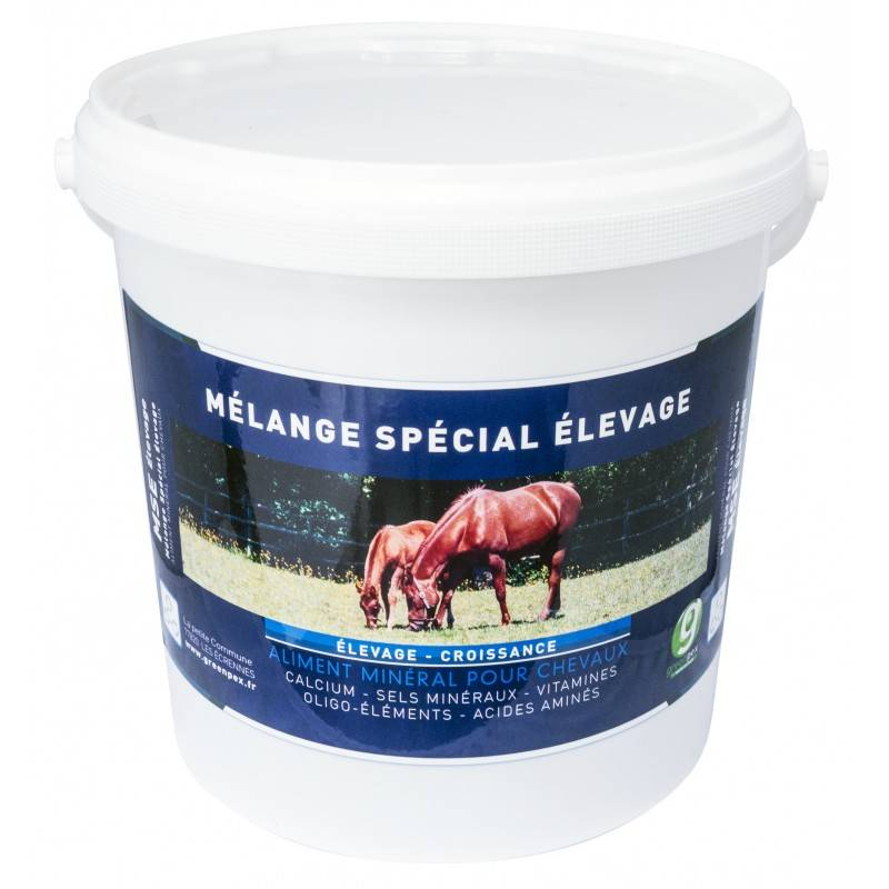 MSE (Melange Special Elevage) Aliment Mineral Polyvitamine Cheval Poudre Orale 2kg