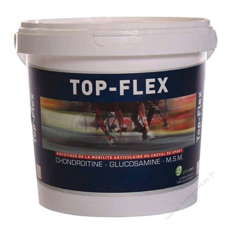 Greenpex Top-flex Mobilite et Souplesse Articulaire Cheval Poudre Orale 1,5kg