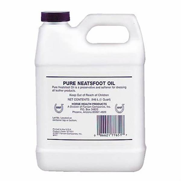Pommier Nutrition Neatsfoot Oil Huile Pied de Boeuf Entretien Cuirs bidon 946ml