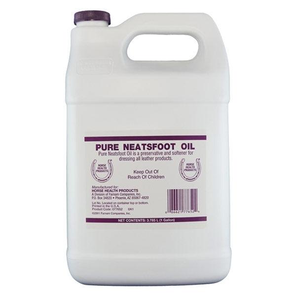 neatsfoot oil huile pied de boeuf entretien cuirs bidon de 3l78
