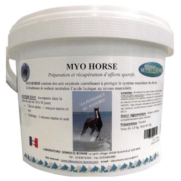 Sennecq Bonne Myo Horse Cheval poudre orale 1,8kg