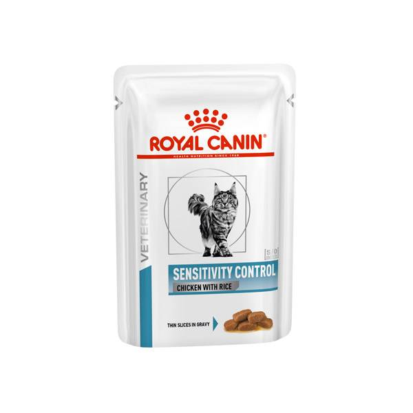 Royal Canin Veterinary Chat Sensitivity Control Chicken 12 Sachets