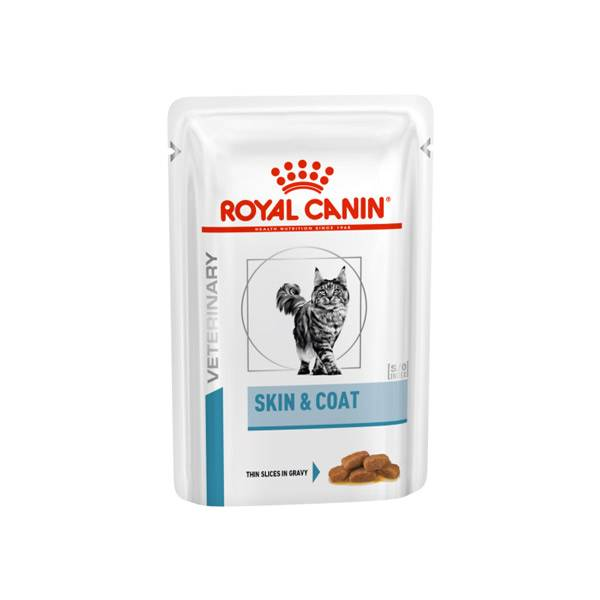 Royal Canin Veterinary Chat Skin & Coat 12 Sachets