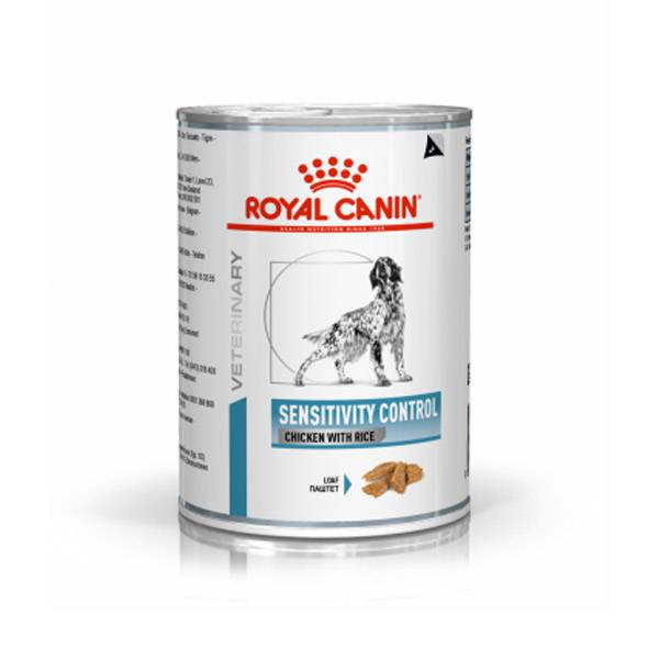 Royal Canin Veterinary Diet Chien Sensitivity Control Poulet/Riz Aliment Humide 420g