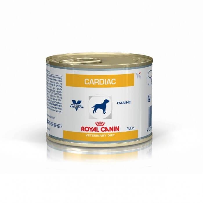 royal canin veterinary diet chien cardiac 1 boite de 200g d'aliment humide