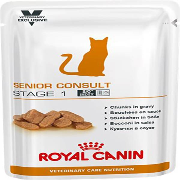 Royal Canin Vet Care Nutrition Chat Senior Stage 1 12 unités