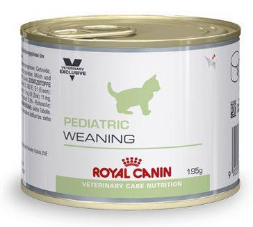 royal canin veterinary care nutrition chat pediatric weaning(4sem a 4mois)boite 195g aliment humide