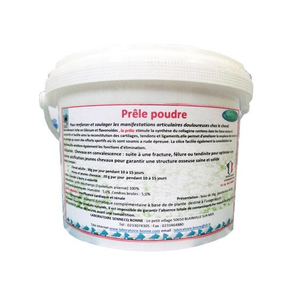 Sennecq Bonne Prêle Renforce et Soulage les Douleurs Articulaires Cheval Poudre Orale 1kg
