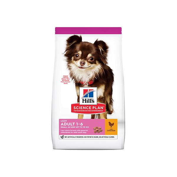 Hill's Science Plan Canine Adult Light Small & Mini Poulet 1,5kg