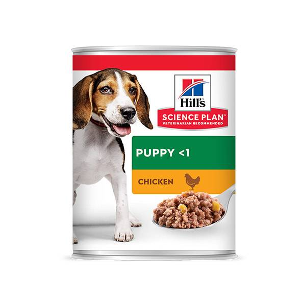 'Hill''s Science Plan Canine Puppy Aliment Humide Poulet 370g'
