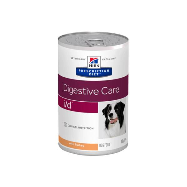Hill's Prescription Diet Canine I/D Digestive Care Aliment Humide Dinde 12 x 360g