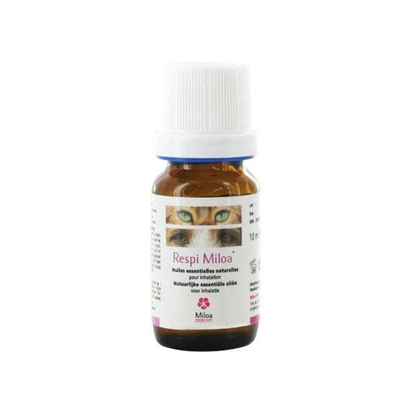 Miloa Respi Miloa Huiles Essentielles Naturelles pour Inhalation Chien Chat 10ml