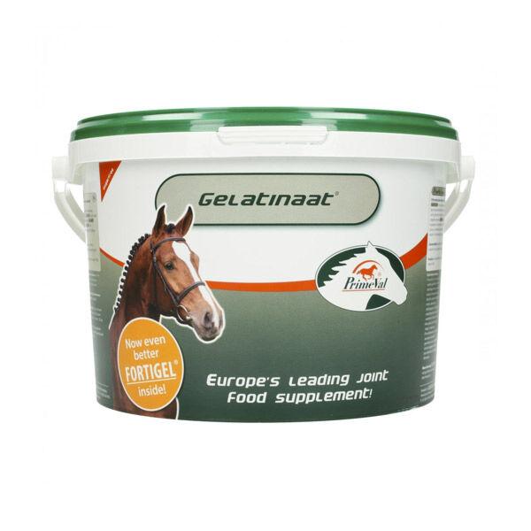 Top Equine Gelatinaat Primeval Supplément Nutritionnel des Articulations Cheval poudre orale seau de 5kg