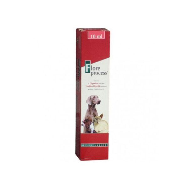 Flore Process Soutien Fonction Digestive Chien Chat Pâte Orale seringue de 10ml