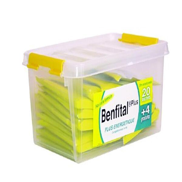 Benfital Plus Lait Remplacement Veau poudre orale soluble sachet 100g boite de 24