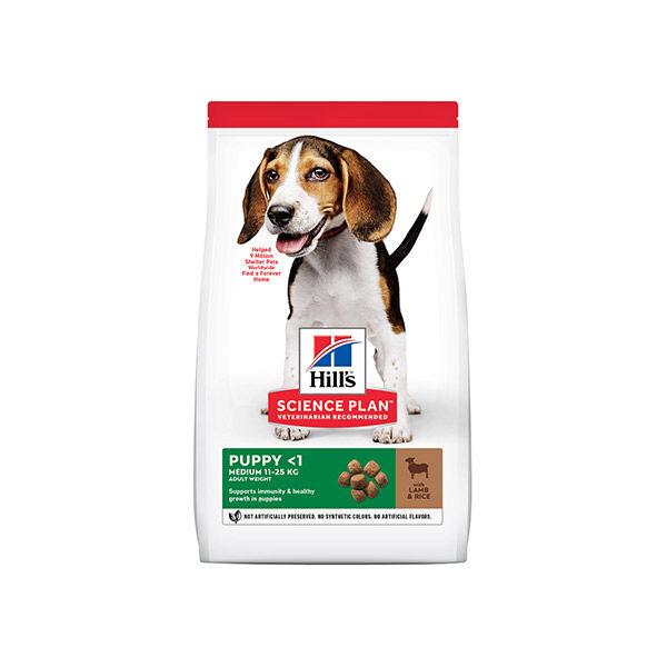 Hill's Science Plan Canine Puppy Medium Agneau & Riz 14kg
