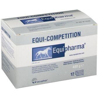 Ecuphar Equi-competition Vitamines Muscles Courbatures et Energie Cheval Poudre Orale 12 sachets de 40g