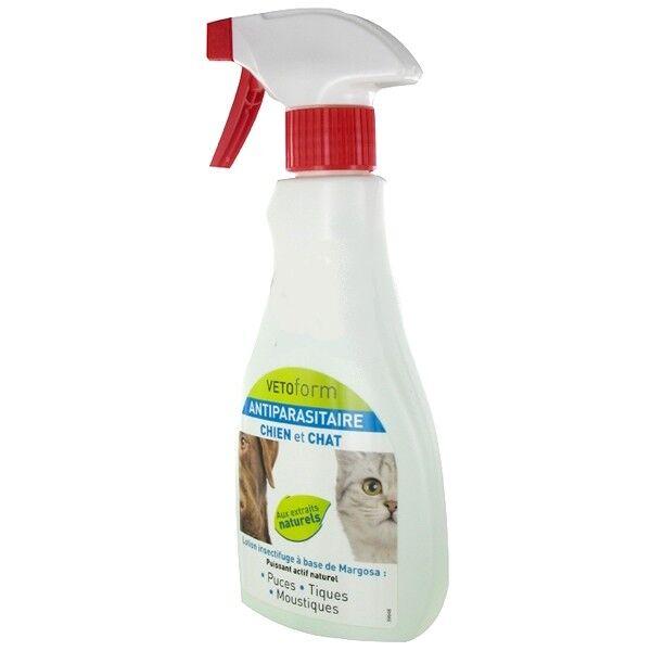 Vetoform Antiparasitaire Chien et Chat Spray 250ml