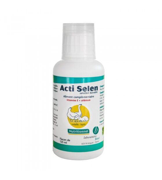 Biové Acti Selen Vitamine E Sélénium Solution Buvable flacon de 125ml