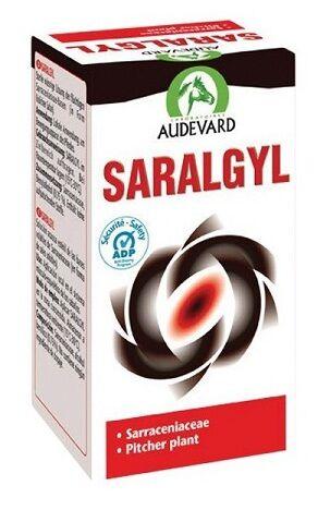 saralgyl liniment destine a l'appareil musculo-squelettique cheval solution externe flacon de 50ml